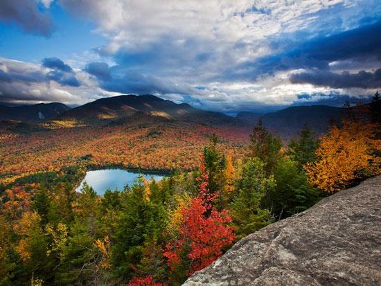 Cảnh mùa thu ở Adirondacks