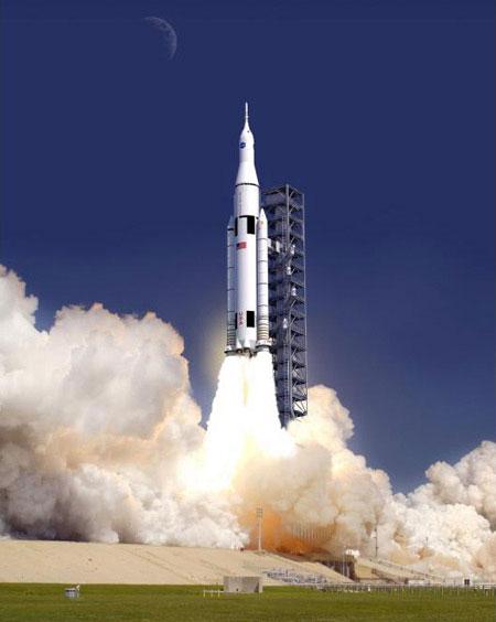 Tên lửa SLS sẽ có khả năng đưa phi hành gia tới sao Hỏa. (Ảnh: Discovery)
