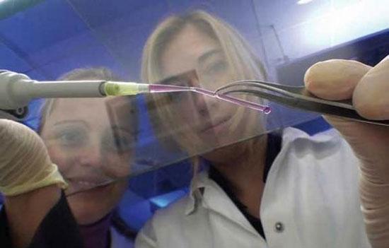 In tế bào máu bằng công nghệ 3D