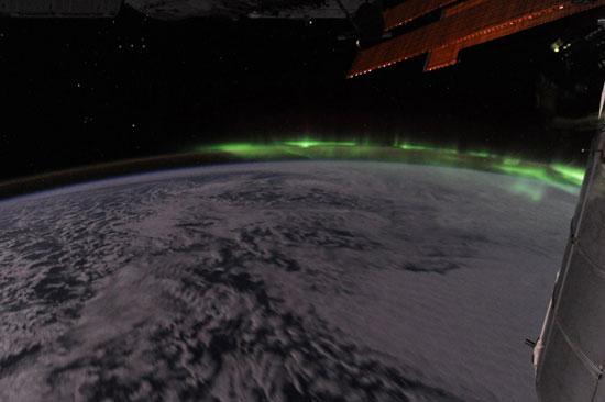 Ngắm cực quang từ vũ trụ