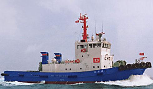Tàu khảo sát địa chất Choyo Maru. (Ảnh: dokai.co.jp)