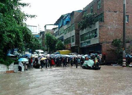 27 người chết vì mưa lớn tại Trung Quốc