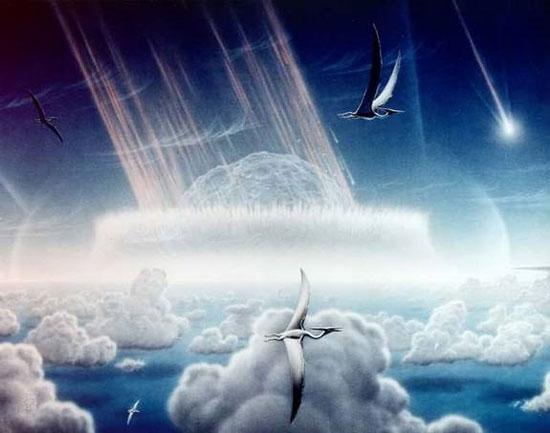 Khủng long tuyệt chủng là do thiên thạch?