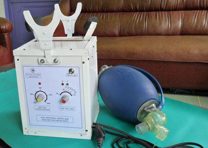 Chế tạo được máy trợ thở cá nhân với giá thành rẻ