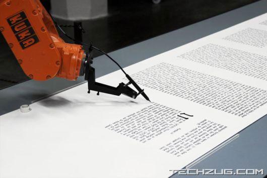 Robot cũng có thể viết báo