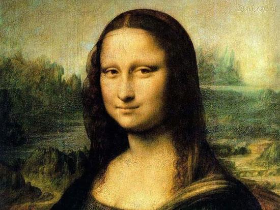 Bức họa Mona Lisa nổi tiếng.