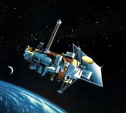 Quay được cảnh vệ tinh của NASA đang rơi trong vũ trụ