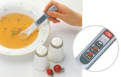 Thìa điện tử có thể đo nồng độ muối của thức ăn