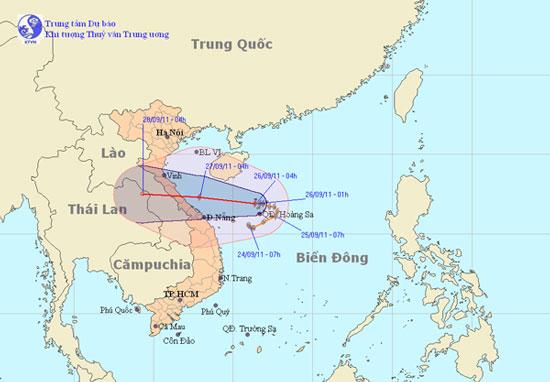 Khẩn cấp đối phó với bão Haitang