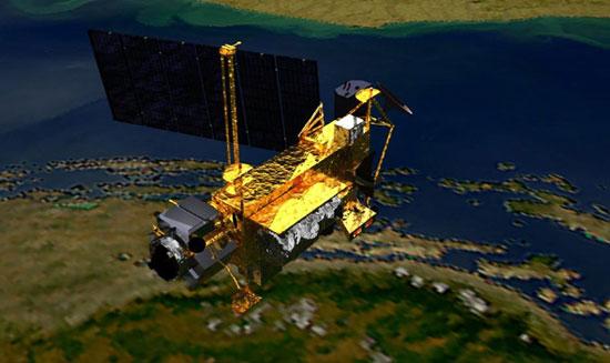 Xác định được vị trí rơi của vệ tinh Mỹ
