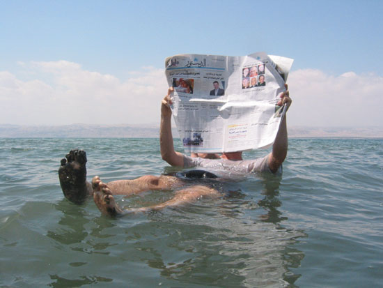 Biển Chết thật sự không chết