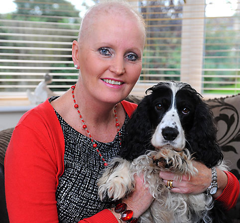 Chú chó Murphy đã cứu sống bà Brenda