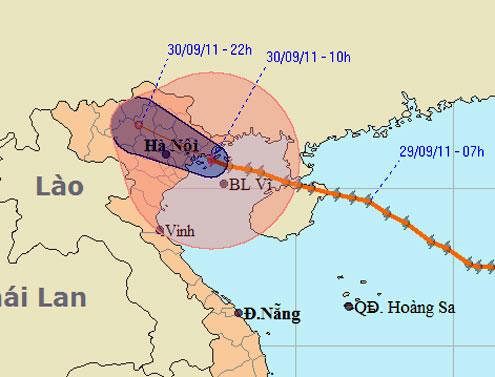Bão đổ bộ Quảng Ninh, Hải Phòng