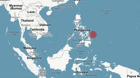 Động đất mạnh gây sóng thần ở Philippines