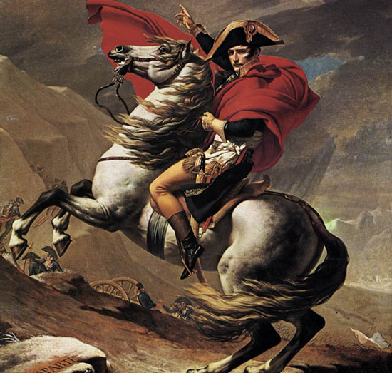Napoleon không hề lùn, mà cao trên 1m70.