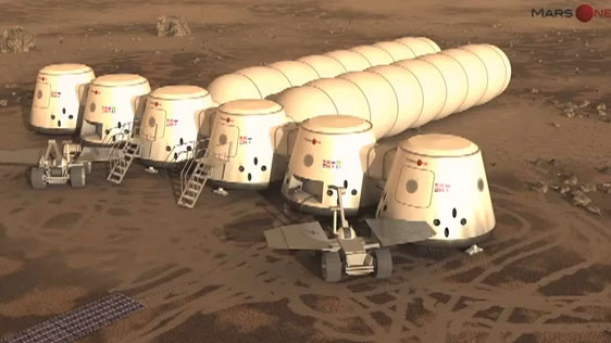 """Nhiều công ty tài trợ ý tưởng """"bán vé tới sao Hỏa"""""""