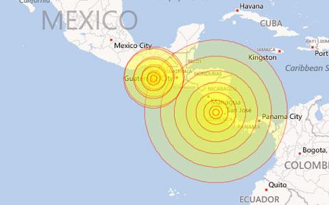 Động đất mạnh gây cảnh báo sóng thần ở Trung Mỹ