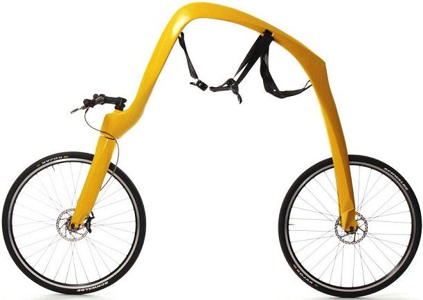 Sáng chế xe đạp không yên, không pedal