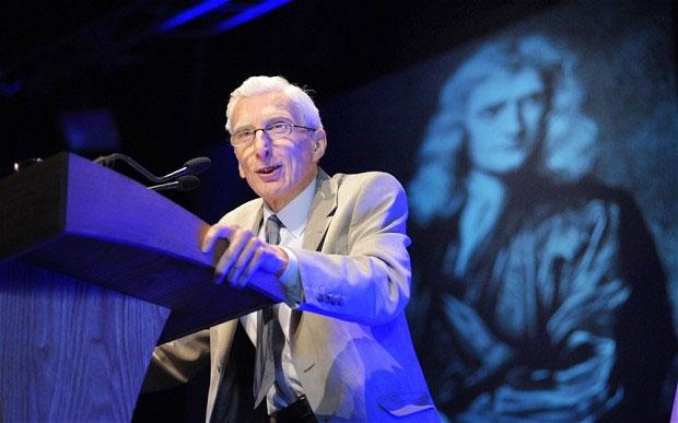 Nhà thiên văn học Martin Rees - cựu chủ tịch Hiệp hội Hoàng gia Anh.