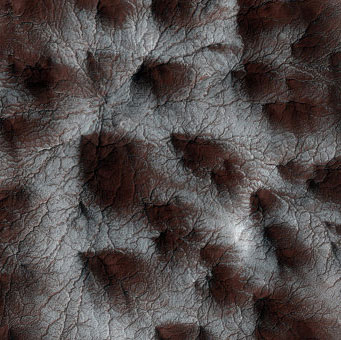 Phát hiện tuyết trên Sao Hỏa