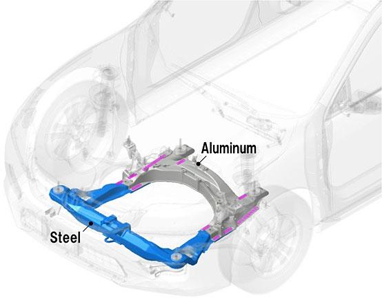 Giảm trọng lượng xe hơi nhờ công nghệ hàn mới