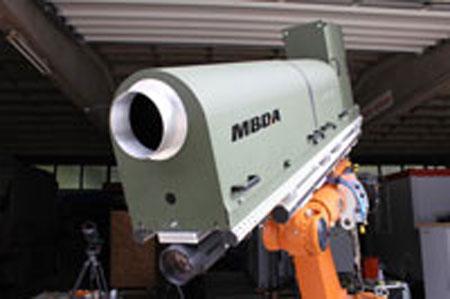 Pháo laser của MBDA đốt chảy thép dày 40mm