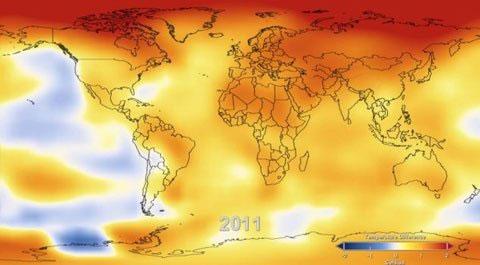 Nhiệt độ Trái đất tăng kỷ lục sau hơn 100 năm