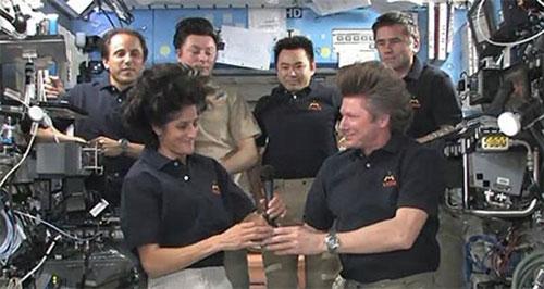 Kỷ lục gia của NASA nắm quyền quản lý trạm ISS