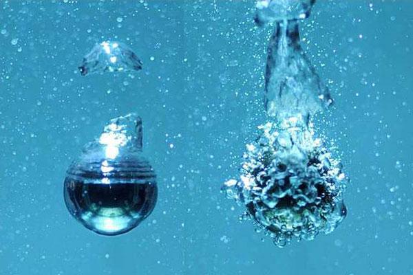 Ngăn bong bóng thành hình khi nước sôi