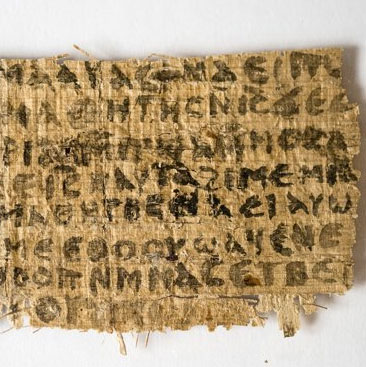 Mảnh giấy cổ tiết lộ về hôn nhân của Chúa