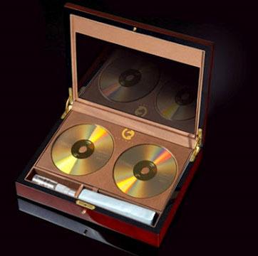 DVD vàng lưu trữ dữ liệu có tuổi thọ 1 thế kỷ