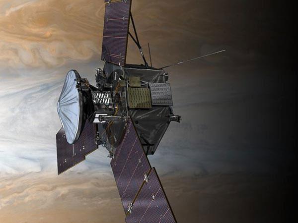 Phi thuyền Juno thẳng hướng sao Mộc