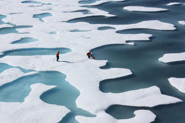 Mỹ lợi dụng băng Bắc Cực để theo dõi tàu ngầm