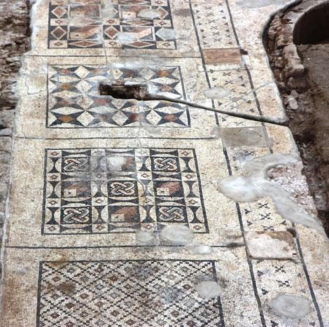 Kiến trúc khảm thời đế chế La Mã