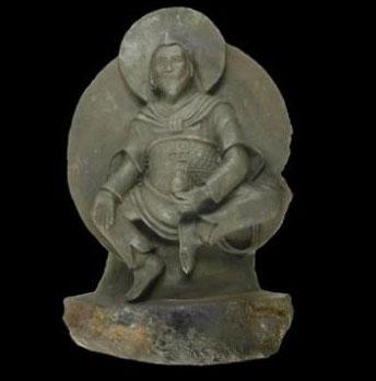 Phát hiện tượng Phật tạc từ thiên thạch cực hiếm