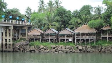 Mô hình đối phó với thảm họa tại Nong Bua.