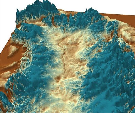 """Phát hiện hẻm núi """"lạnh cóng"""" dài nhất thế giới"""