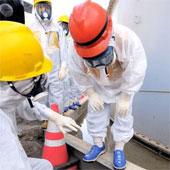 Chỉ số phóng xạ rất cao tại Fukushima