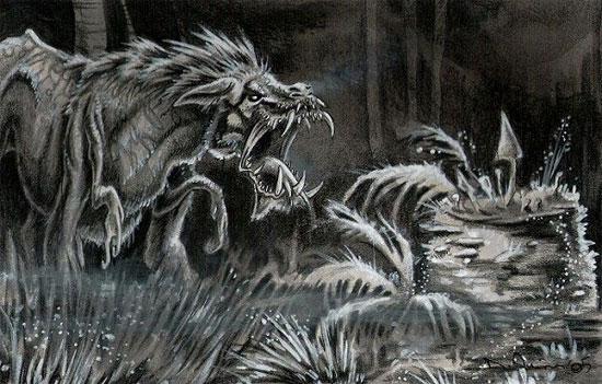 Quái vật sói lai sư tử Crocotta