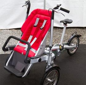 Xe đạp kết hợp xe đẩy