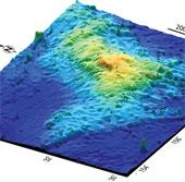 Núi lửa lớn nhất thế giới nằm dưới Thái Bình Dương