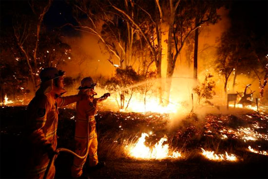 Hàng chục vụ cháy rừng lớn bùng phát tại Australia
