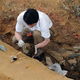 Phát hiện mộ của nữ tể tướng thời Võ Tắc Thiên