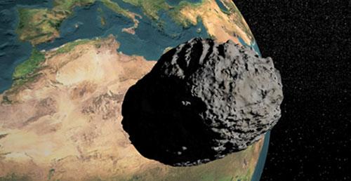 Tiểu hành tinh bay qua Trái Đất