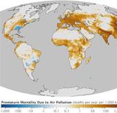 Bản đồ hé lộ các nước ô nhiễm nhất hành tinh