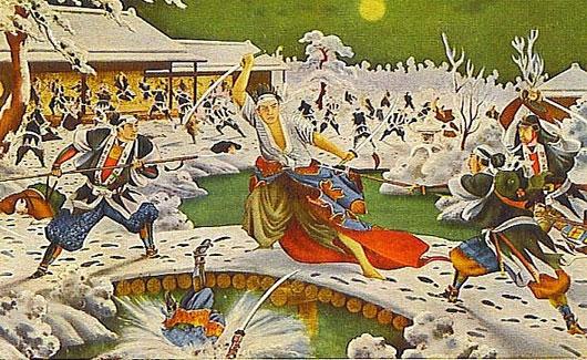 Huyền thoại về 47 Samurai trả thù và tự tử tập thể