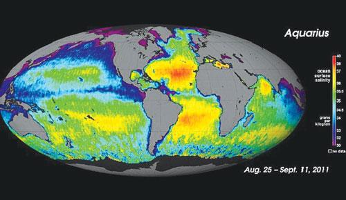 Đại dương mặn như thế nào?