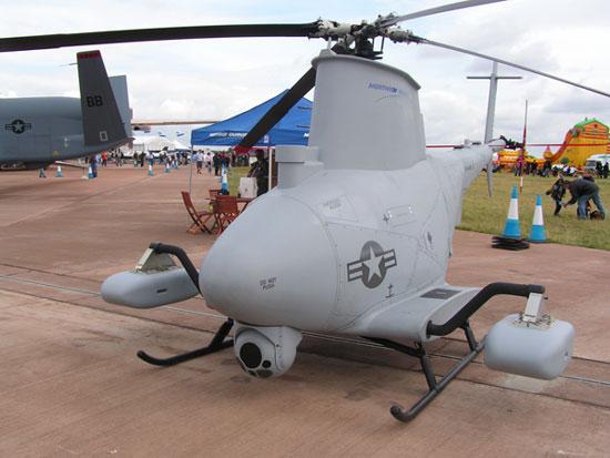 Đây là chuyến bay đầu tiên của trực thăng không người lái chạy bằng nhiên liệu sinh học của Hải quân Mỹ (Ảnh: Gizmag)