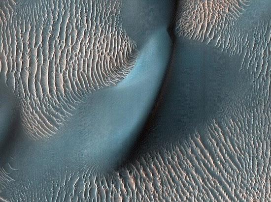 Gợn sóng và cồn cát trên sao Hỏa