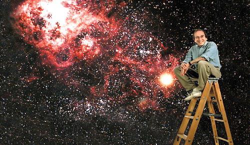 Nhà khoa học Saul Perlmutter - (Ảnh: AFP)